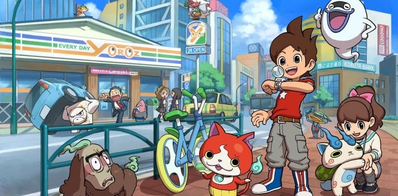 Ya está disponible la demo de Yo-kai Watch para Nintendo 3DS