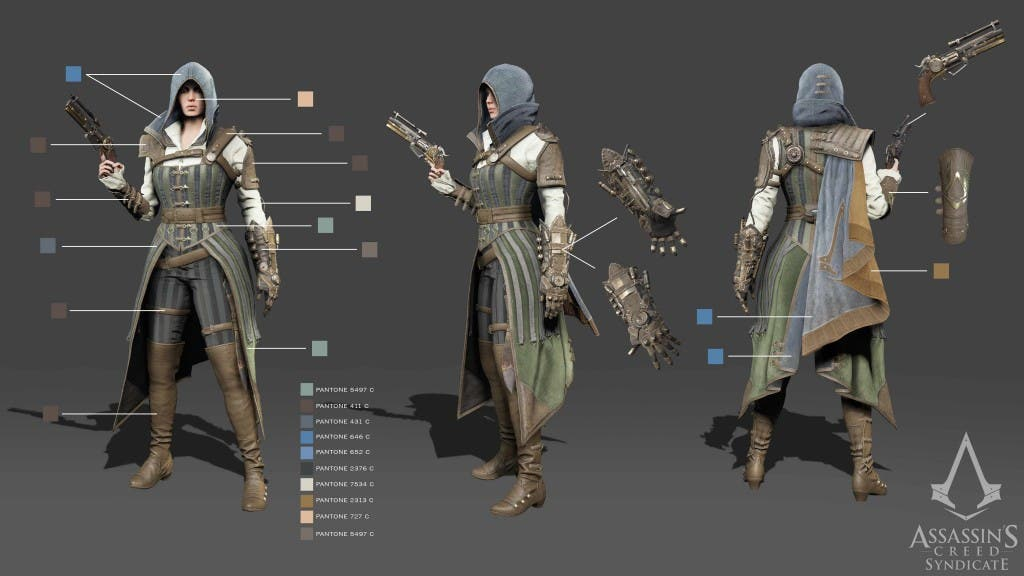 AC Syndicate Evie Steampunk