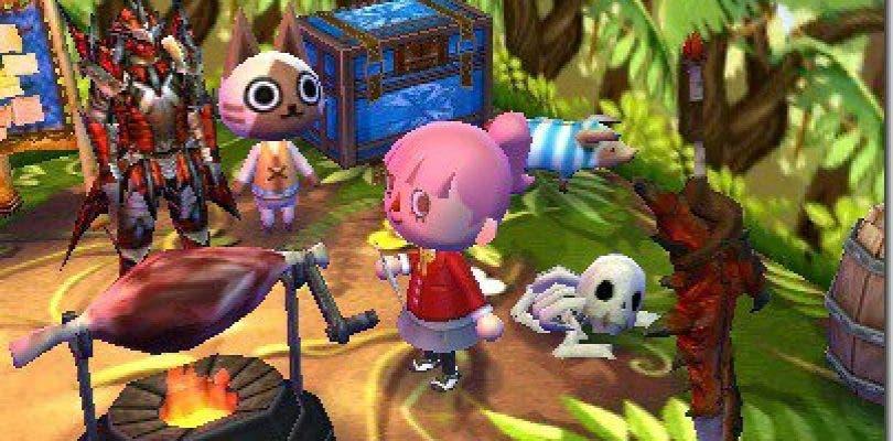 Animal Crossing: Happy Home Designer recibe contenido de Monster Hunter