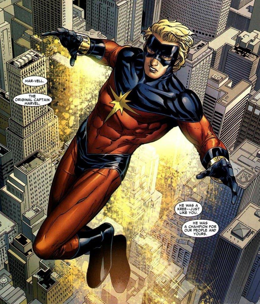Areajugones Capitan Marvel Mar-vell