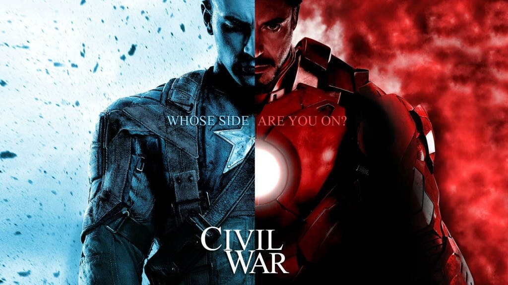 Areajugones Civil War Marvel