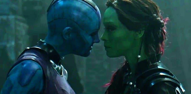Tendremos más de Gamora y Nébula en Guardianes la Galaxia Vol. 2