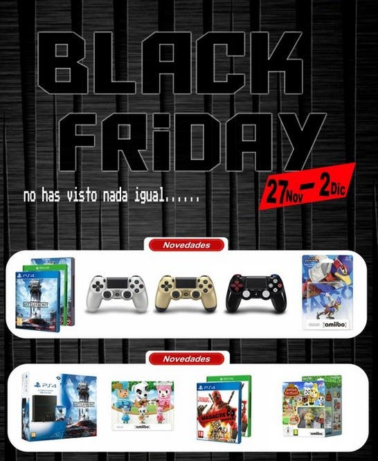Black Friday 2015 Impact Game