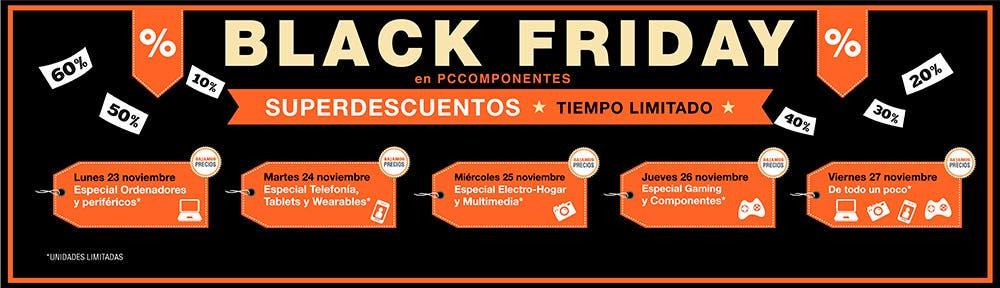 Black Friday 2015 PC Componentes