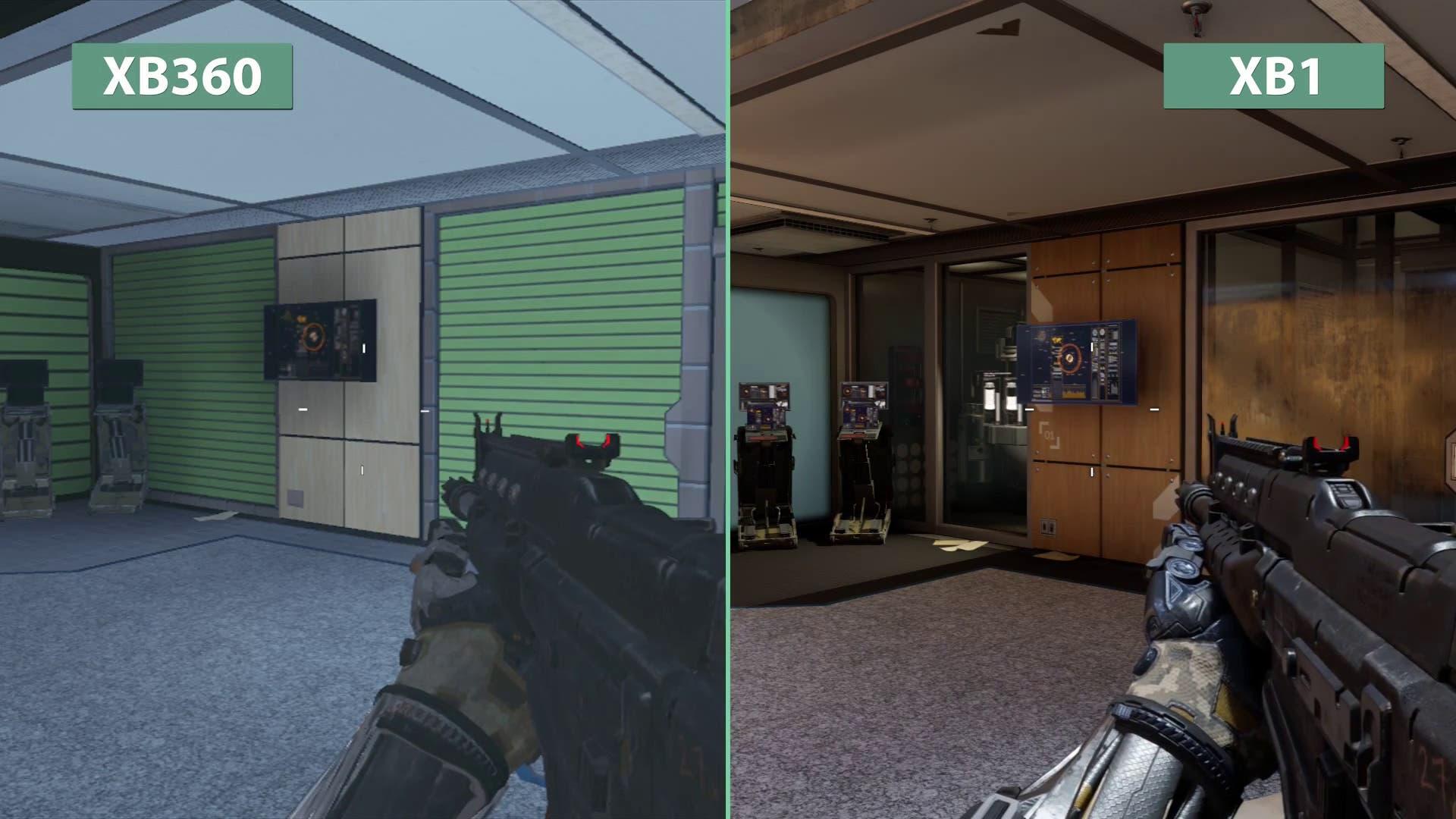 Xbox One Call Of Duty Black Ops 2 Comparación gr&#2...
