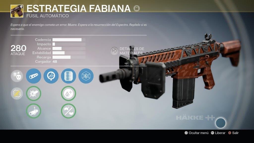 Destiny Estrategia Fabiana