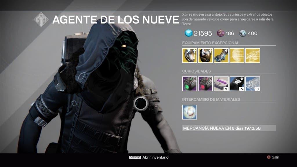 Destiny Xur 061115