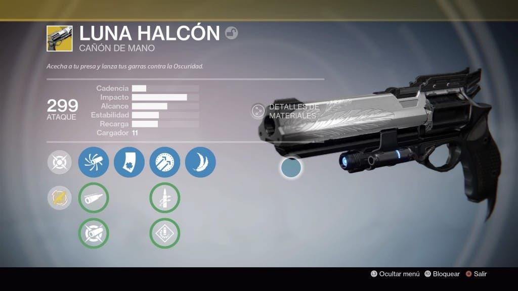 Destiny Halcón de Luna