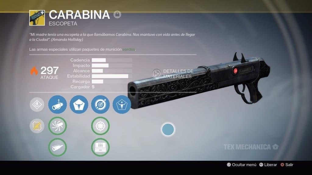 Destiny Carabina