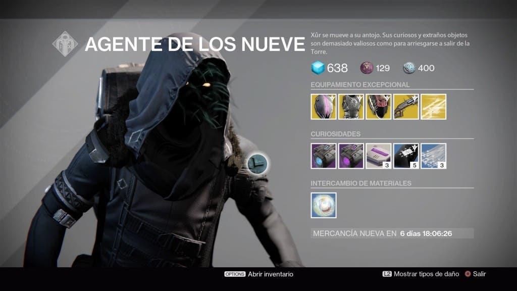 Destiny Xur 271115