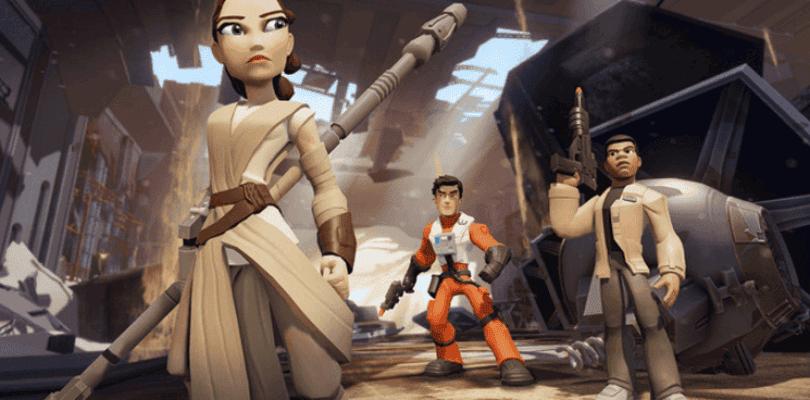 Nuevas figuras de Star Wars: El despertar de la fuerza para Disney Infinity 3.0