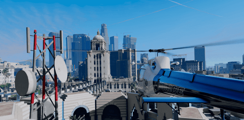 Llega un espectacular mod 4K a Grand Theft Auto V