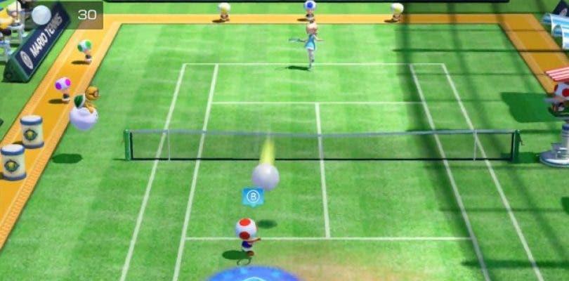 Así es el modo de juego Mega Ball Rally de Mario Tennis: Ultra Smash