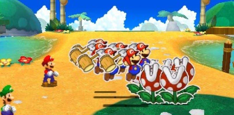 Nuevas imágenes in game de Mario & Luigi: Paper Jam Bros.