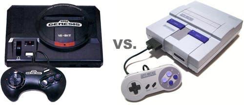 Mega drive y Super Nintendo