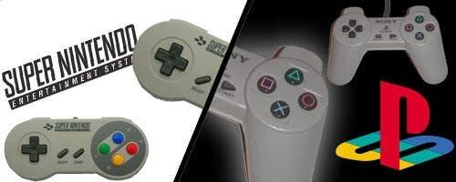 SNES y PlayStation