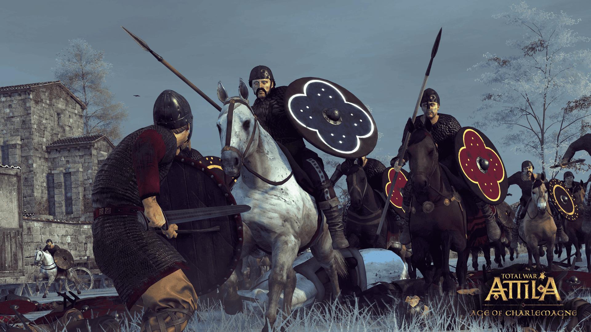Imagen de Total War: Attila llega a la época de Carlomagno