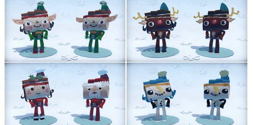 La Navidad llega a Tearaway Unfolded en un nuevo DLC