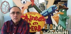 Entrevistamos a Santiago Cobo, productor de Phineas y Ferb: El Día de Doofenshmirtz