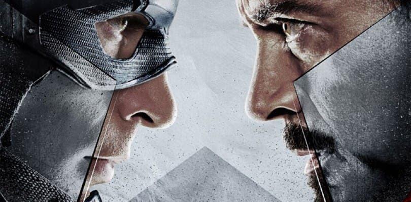 Primer tráiler oficial de Captain America: Civil War