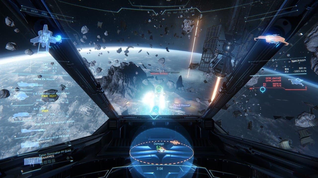 Imagen de Nuevo vídeo muestra la interfaz de Star Citizen