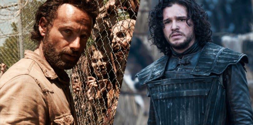 The Walking Dead reacciona ante el nuevo póster de Game of Thrones