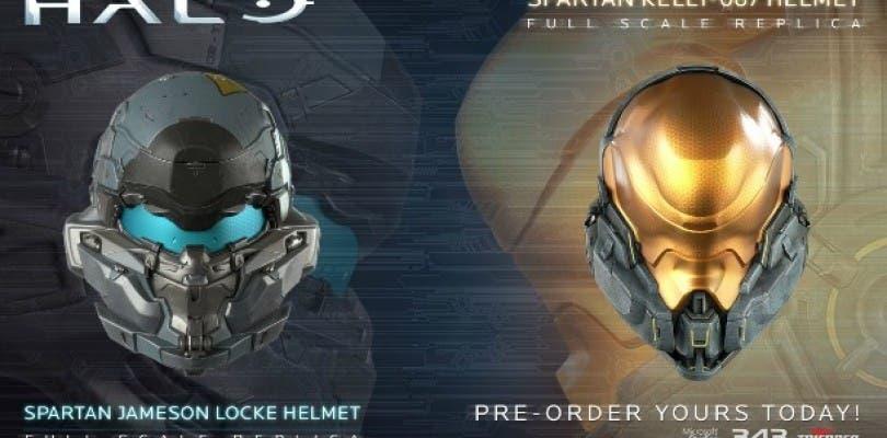 TriForce abre el periodo de reservas para las réplicas de los cascos de Halo 5