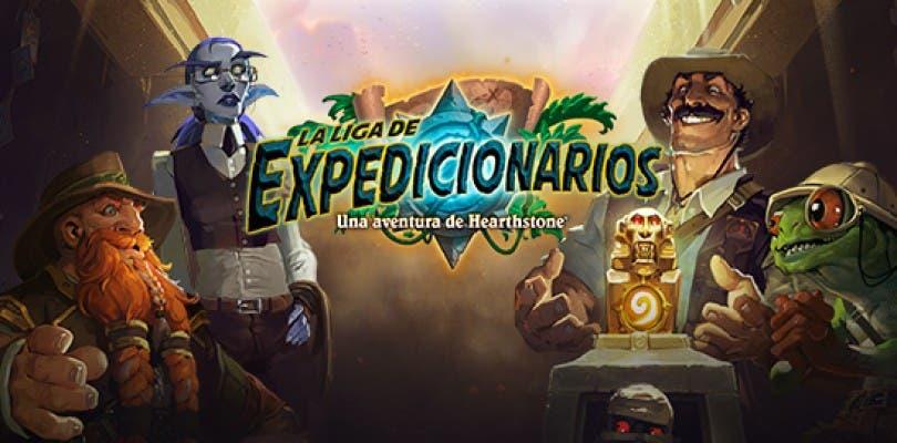 Disponible la primera ala de la nueva aventura de Hearthstone, La Liga de los Expedicionarios
