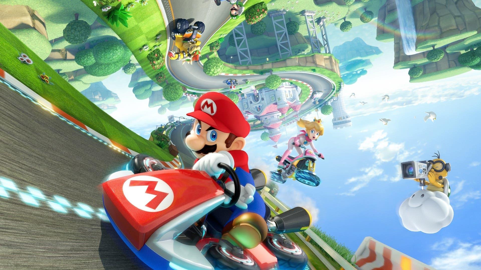 Imagen de Mario Kart 8 Deluxe sorprende y se cuela entre los más vendidos esta semana en Reino Unido