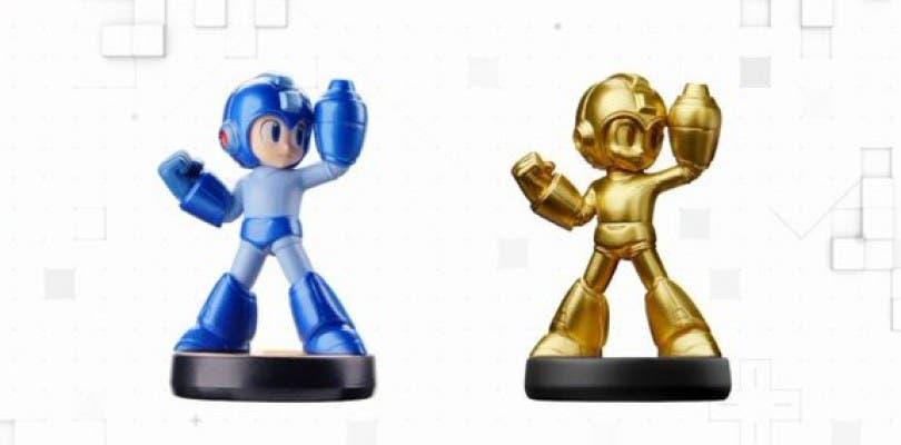 El amiibo Mega Man dorado se podrá conseguir con la Edición Especial de Legacy Collection