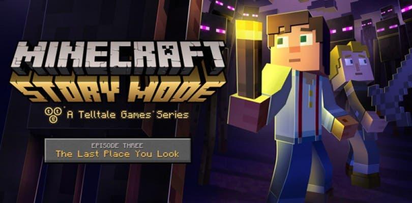 Tráiler y fecha del tercer episodio de Minecraft: Story Mode