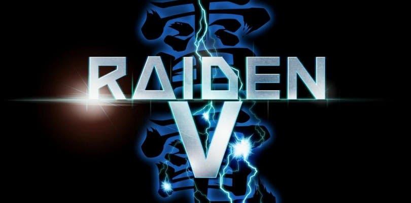 Raiden V llegará en febrero a Japón