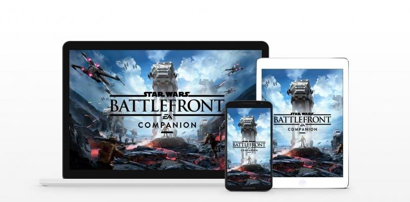 Ya disponible la Companion App de Star Wars Battlefront