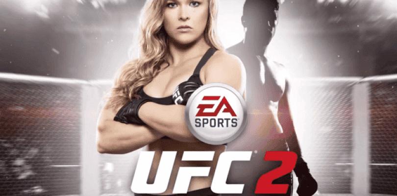 La portada oficial de UFC 2 protagonizada por Rousey