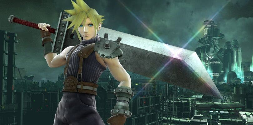 Se confirma a Cloud como luchador en el elenco de Super Smash Bros.