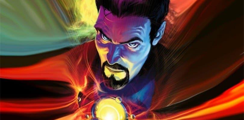 Una nueva imagen muestra una localización de Doctor Strange