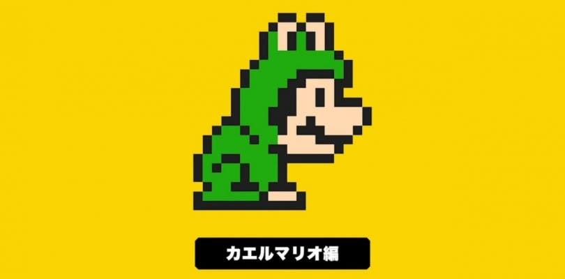 El traje de Mario Rana llega a Super Mario Maker