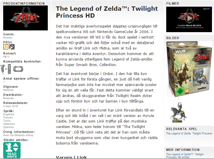 the lengend of zelda twilight princess