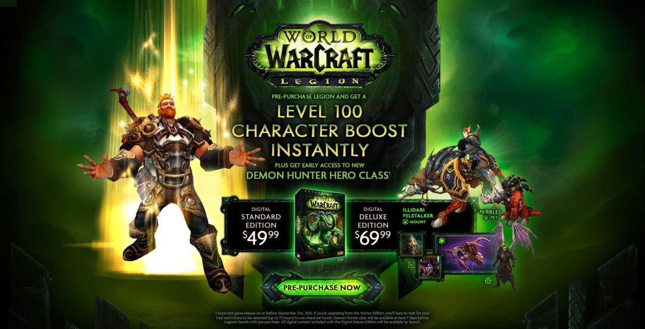 wow world of warcraft expansión legion