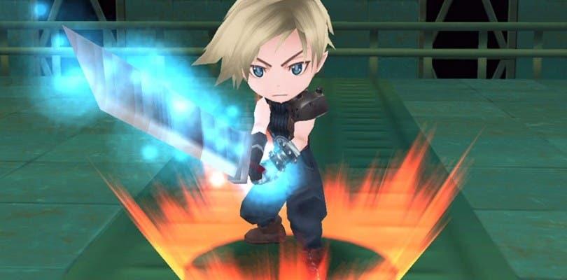 Los personajes de Final Fantasy VII llegan mañana a Rampage Land Rankers