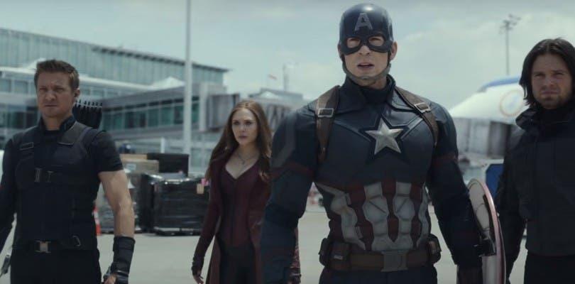 Nuevo arte promocional de Capitán América: Civil War