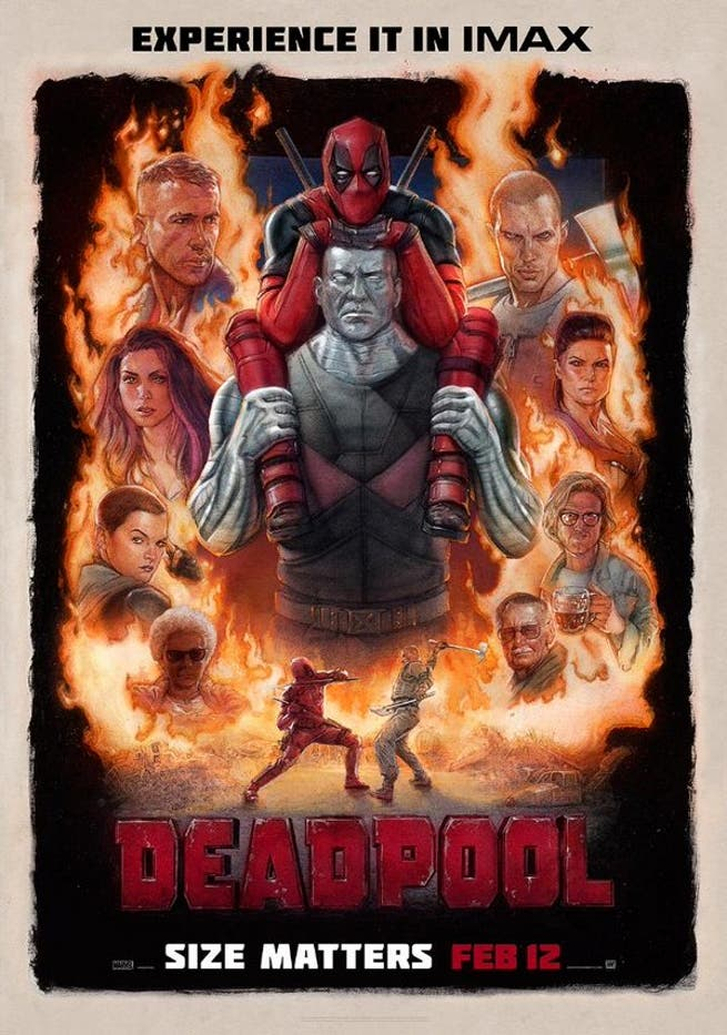 Areajugones Deadpool IMAX