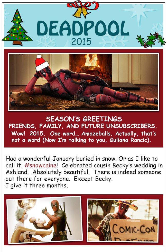 Areajugones Deadpool Postal 1