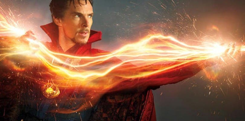 El Doctor Strange muestra sus poderes en un nuevo concept art