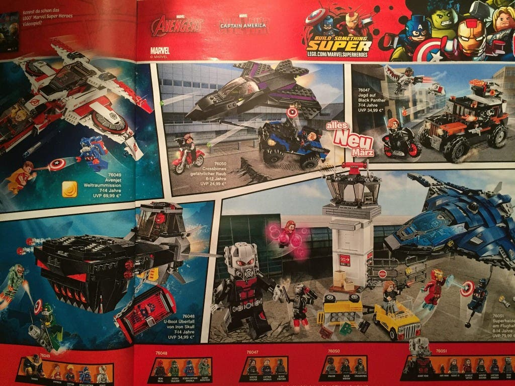 Areajugones LEGO Capitán América Civil War