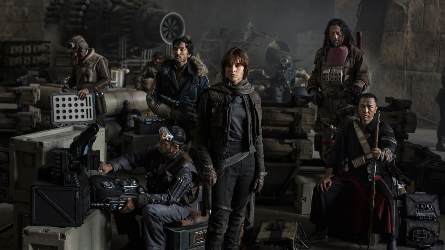 El elenco de actores de Rogue One: A Star Wars Story