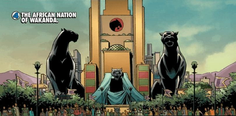 Primer vistazo a Wakanda en arte conceptual de Black Panther