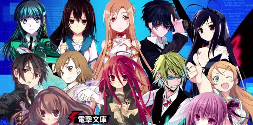 Dengeki Bunko: Fighting Climax Ignition muestra su espectacular opening