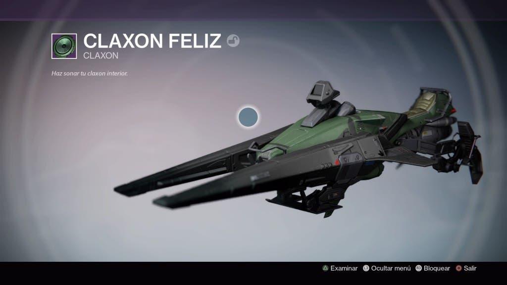 Destiny Claxon feliz