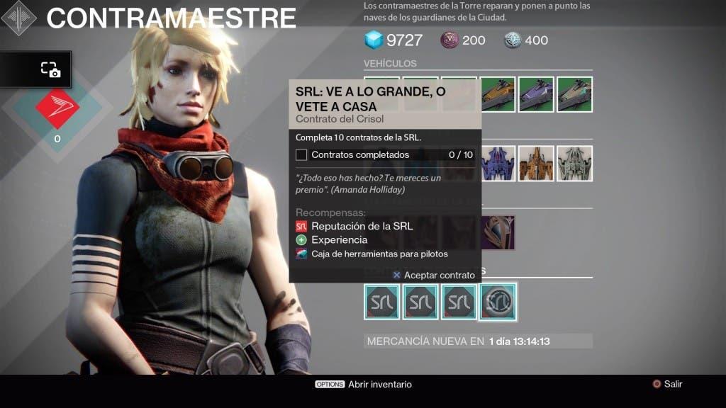 Destiny Contrato SRL